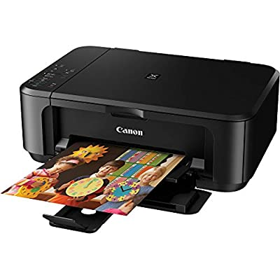 Canon PIXMA MG3520 Wireless Inkjet Photo All-In-One Color Printer with Scanner and Copier built-in Wi-Fi Enabled AirPrint™ Liquidation Deal (NO Ink Included) - Black