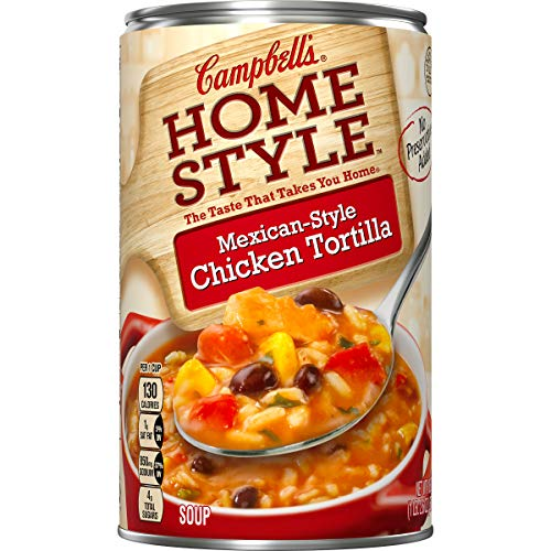 (Campbell's Homestyle Mexican-Style Chicken Tortilla Soup, 18.6  oz.)