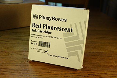 Pitney Bowes Postage Meter Red Ink Cartrige for Models DM200, DM300, DM400 (Bowes Models Pitney)