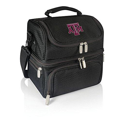 NCAA Texas A&M Aggies Pranzo Insulated Lunch Tote, Black