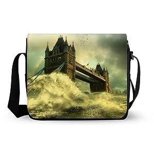 Perfect Bridge Of London England Oxford Fabric Messenger Bag