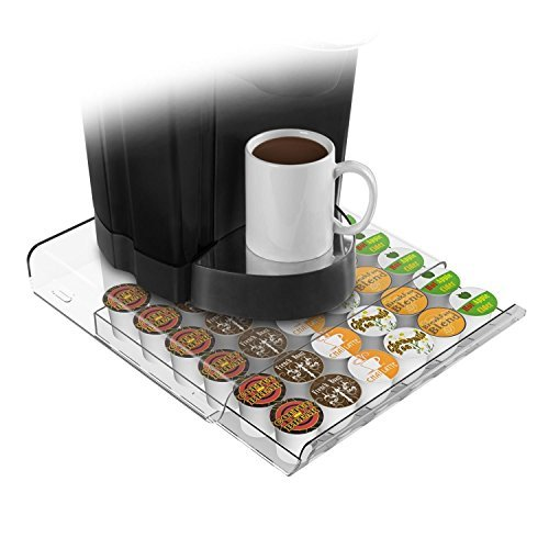 Mind Reader Coffee Pod Storage Drawer for 36 Keurig K-Cup...