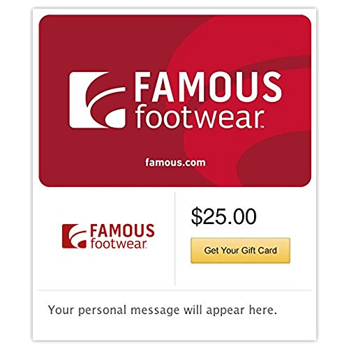 Famous Footwear Gift Cards - E-mail Delivery