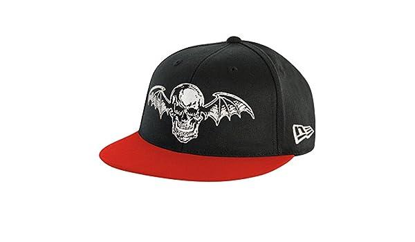 3ba0e2e01 Avenged Sevenfold Men's Baseball Cap Adjustable Black: Amazon.ca ...