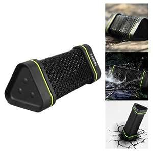 Pixnor EARSON ER151 Outdoor Sports Waterproof Shockproof Wireless Bluetooth Stereo Speaker for iPhone /iPad /Cellphone (Black)