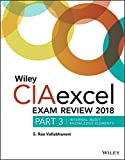 img - for Wiley CIAexcel Exam Review 2018, Part 3: Internal Audit Knowledge Elements (Wiley CIA Exam Review) book / textbook / text book