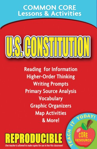 U.S. Constitution - Common Core Lessons and Activities