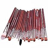 Hatop 20 pcs Makeup Brush Set tools Make-up Toiletry Kit Wool Make Up Brush Set