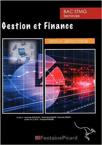 Livres gratuits Gestion et finance Tle STMG pdf