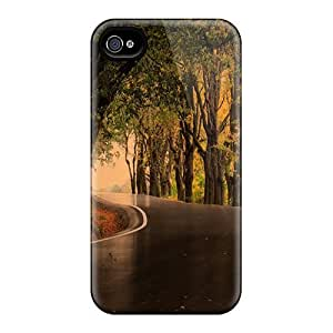 Iphone 4/4s Case, Premium Protective Case With Awesome Look - Dark Road