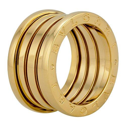 Bvlgari B.ZERO1 18kt Yellow Gold 4-Band Ring 323544