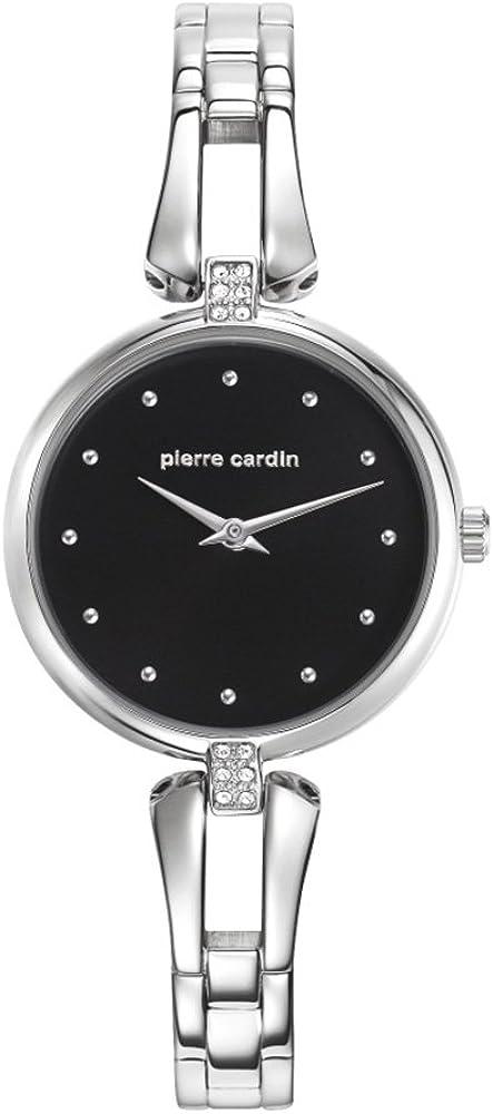 Pierre Cardin Pleyel - Reloj de pulsera analógico de cuarzo para mujer