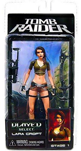 NECA Player Select Tomb Raider Laura Croft Action Figure (Lara Croft Action Figure)