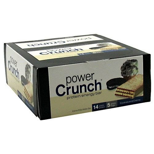 BNRG BNRG Power Crunch, Cookies and Creme, 12 ea by BNRG
