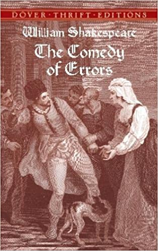 the comedy of errors dover thrift editions
