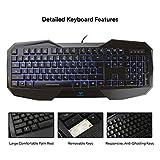 AULA LED Backlit Gaming Keyboard