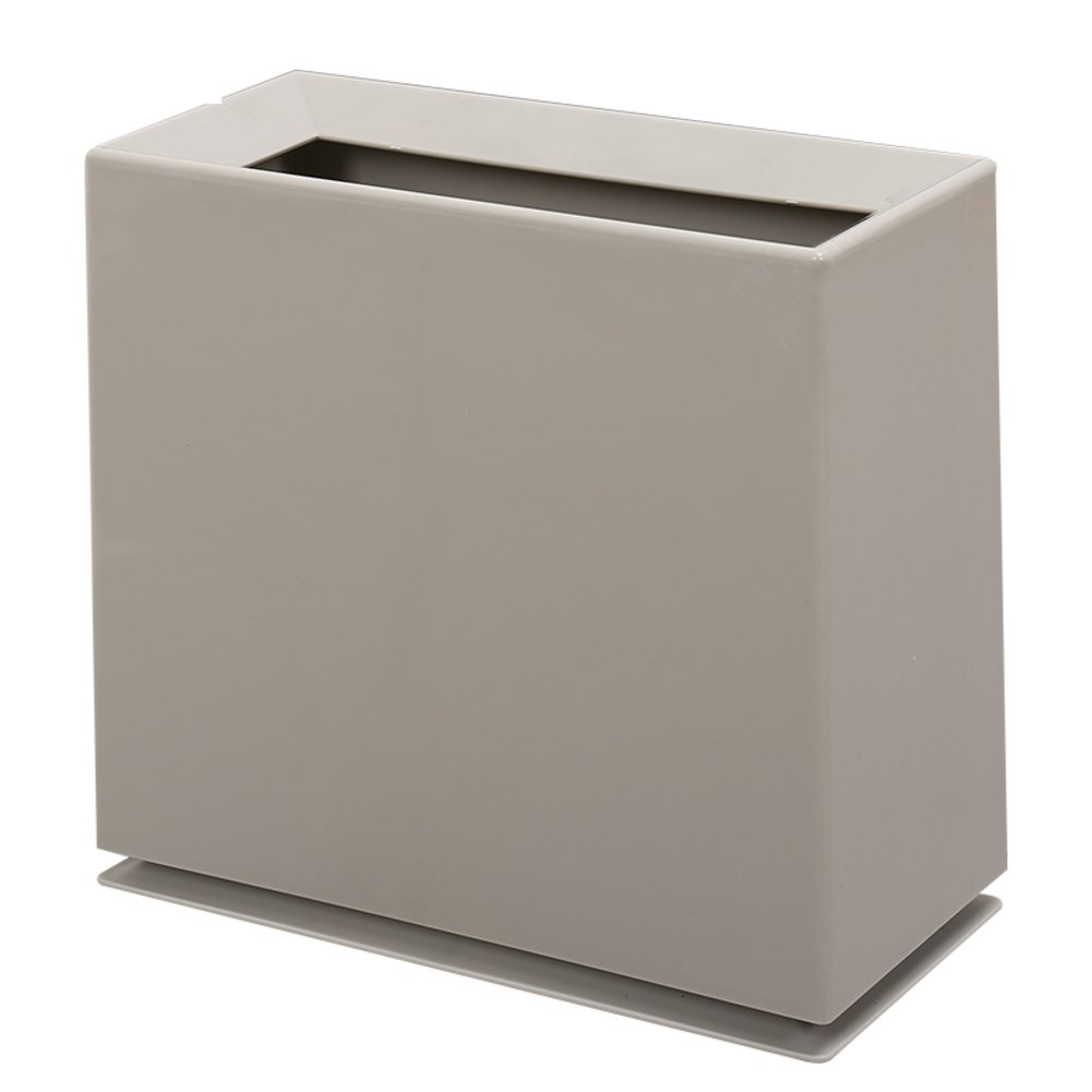 Slim Trash can Simplicity,Suitable for narrow space Minimalism Plastic Rectangle & oblong Personality [no cover]-A DW&ACCDB
