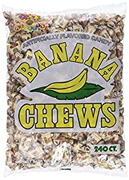 Albert\'s Fruit Chews - Banana Flavor (240 Candies)