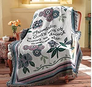 Amazon Com Multi Function Tapestry Couch Throw Flower