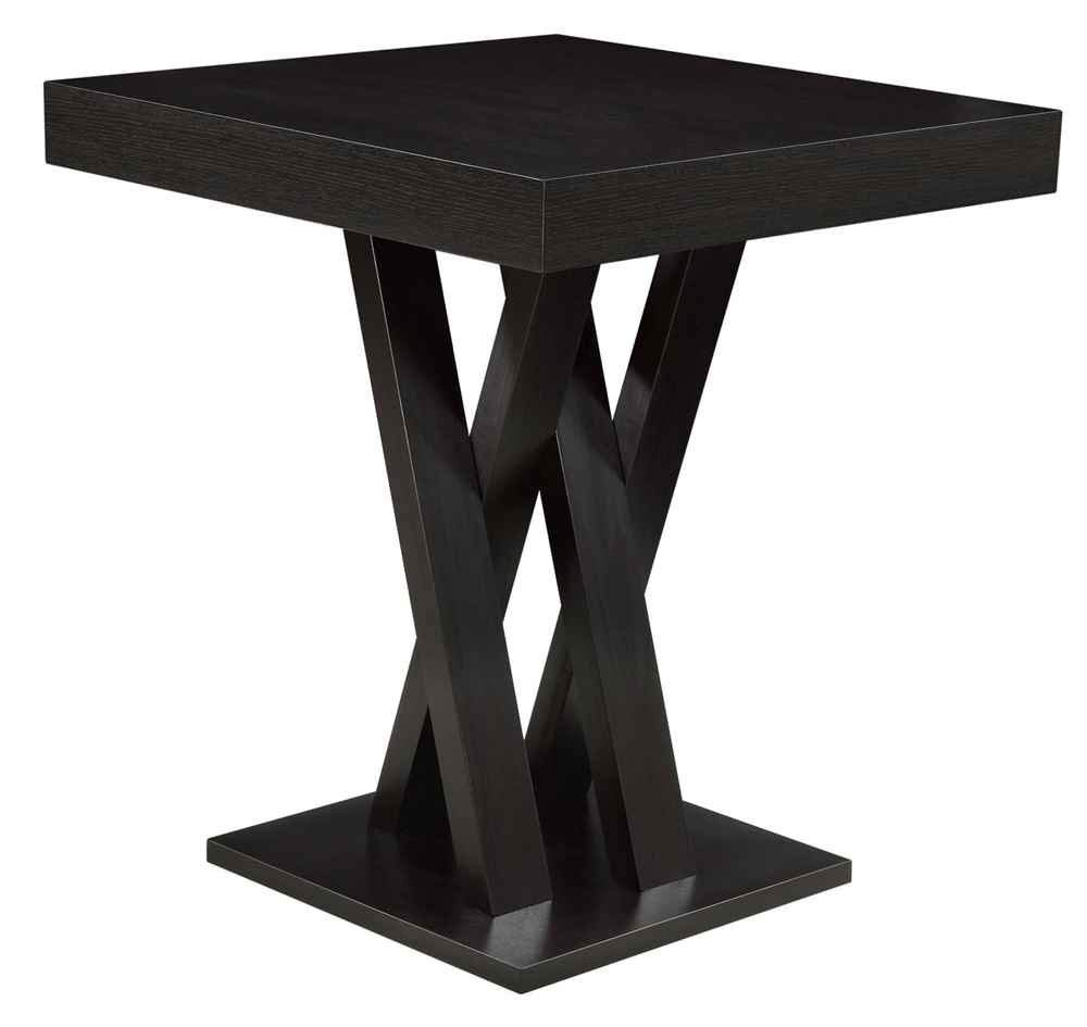 Square Bar Height Table Cappuccino by Coaster Home Furnishings