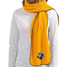 Cherrybrook Gold Dog Breed Embroidered Lightweight Scarves (All Breeds)