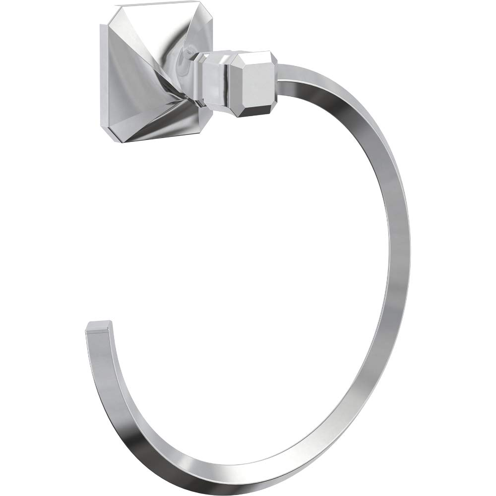 Franklin Brass NAP46-PC Napier Towel Ring, Polished Chrome