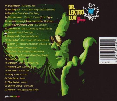 Live Recorded at Pukkelpop 08 by Lektroluv (Image #1)