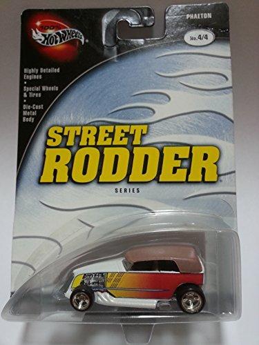 Hot Wheels 100% Street Rodder Series 4/4 Phaeton White