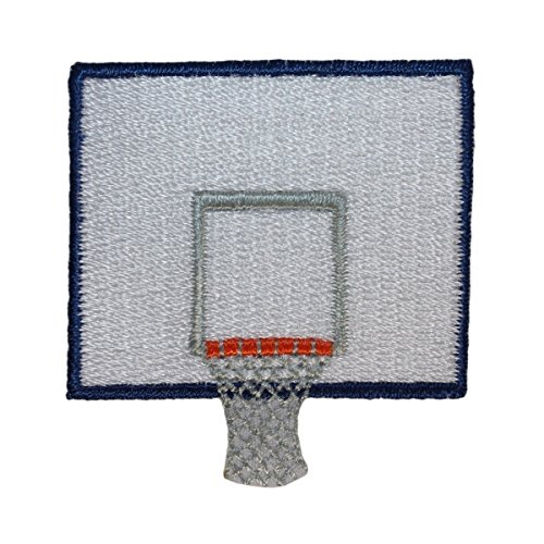 Basketball Applique (ID #1467 Basketball Sports Embroidered Iron On Applique Patch)