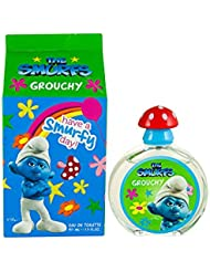 First American Brands The Smurfs Grouchy Eau De Toilette Spray for Kids, 1.7 Ounce