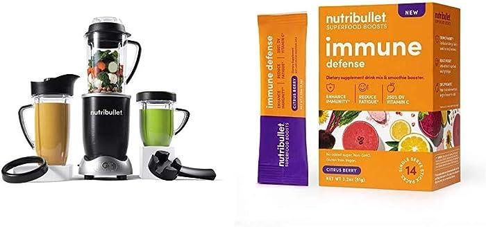 NutriBullet Rx N17-1001 Blender with SuperFood Immune Defense Boosts