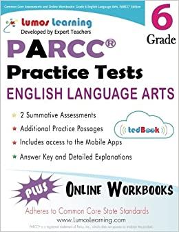 Common core assessments and online workbooks grade 6 language arts common core assessments and online workbooks grade 6 language arts and literacy parcc edition common core state standards aligned lumos learning fandeluxe Gallery