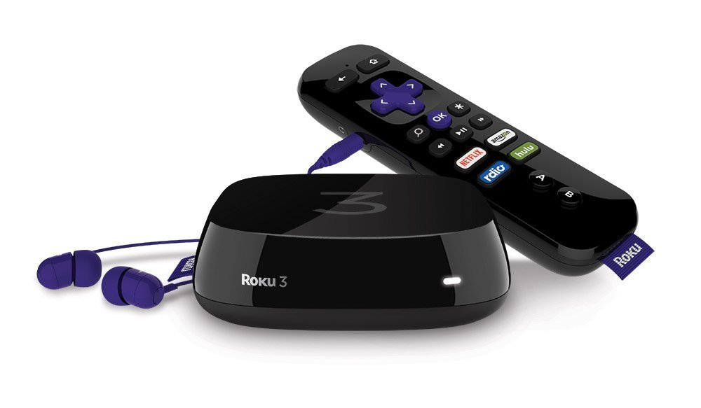 Roku 3 Streaming Media Player with Voice Search (Certified Refurbished) by Roku