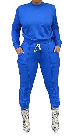EnergyWomen - Chándal - Manga Larga - para Mujer Azul Azul X-Large ...