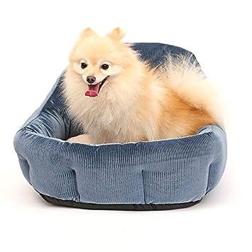 Lamzoom Cama de Lujo para Mascotas, cálida y Elegante, para Cachorro, Camas de