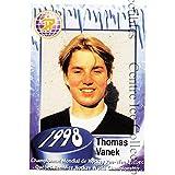 Thomas Vanek Hockey Card 2006 Quebec Pee-Wee Danone #10 Thomas Vanek