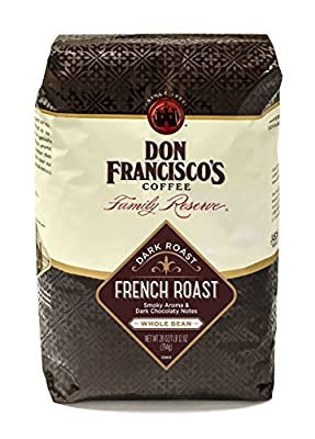 Don Francisco's Coffee, French Roast, Whole Bean, 28-Ounce Bag