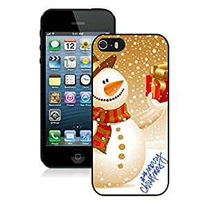 Best Buy Iphone 5S Protective Cover Case Christmas Snowman iPhone 5 5S TPU Case 20 Black