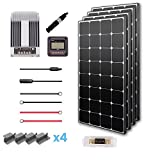 Renogy 400 Watts 12 Volts Eclipse Monocrystalline Solar Premium Kit