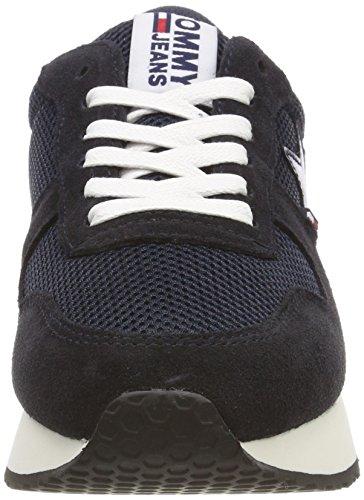 Sneakers Basso Grigio 403 top Argento mezzanotte A Jeans Stella Blu Tommy Donne Ftpgg5