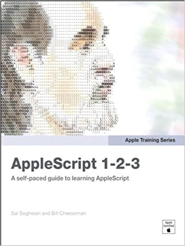 Pdf series apple 1-2-3 training applescript