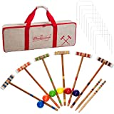 Budweiser Croquet Set with Deluxe Carrying Case - Officially Licensed!