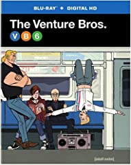 The Venture Bros.: Season 6 (BD)Perfectly situated in the heart of New York City, Season 6 is a dream come true, offering a buyer top-of-the-line drama and danger in every direction. Relax and unwind from a long day in the lab in your luxurio...