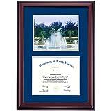 North Florida Ospreys Diploma Frame Blue Gray Matting Photograph