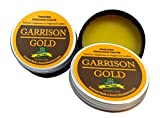 Garrison Gold: Penetrating Rejuvenation Paste Oil - Restores Suppleness to Dry or Neglected Leather