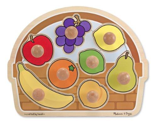 Melissa Doug Basket Wooden Puzzle