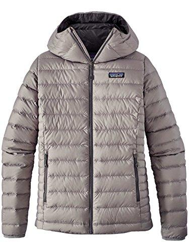 Patagonia W's Down Sweater Hoody Jacket Feather Grey Womens L (Patagonia Down Sweater Jacket)