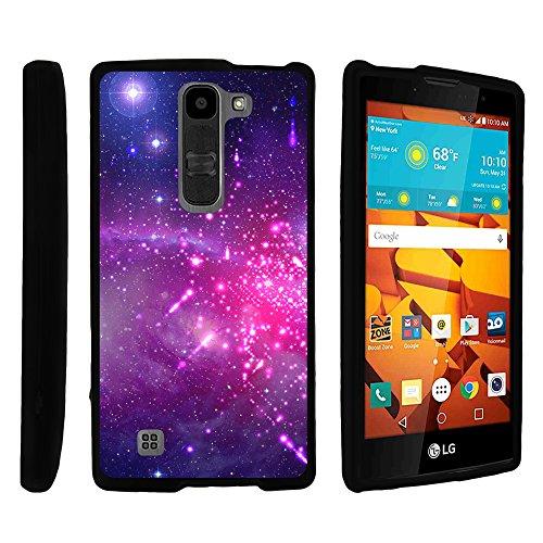 MINITURTLE Case Compatible w/LG Volt 2 Case, Slim Fit Snap On Cover w/Unique, Customized Design for LG Volt 2 LS751 Heavenly Stars