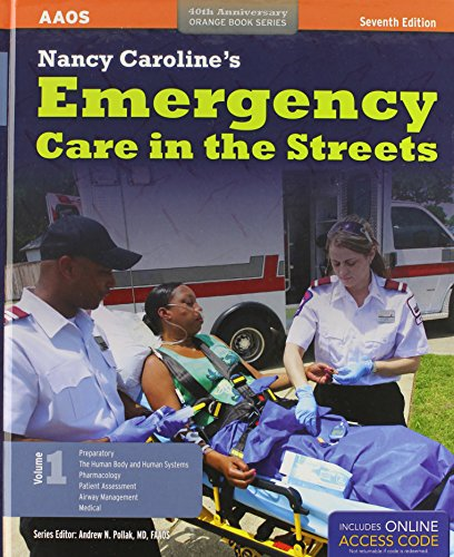 Nancy Caroline's Emergency Care In The Streets Preferred Package (40th Anniversary Orange Book Series)
