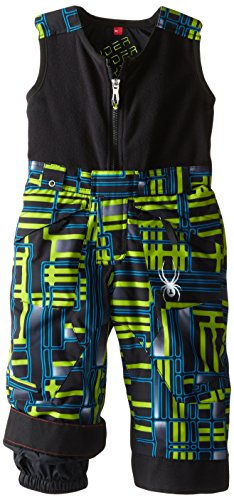 Spyder Boys Mini Expedition Pant, 4, Theory Green Routed Print/Theory Green Routed Print by Spyder